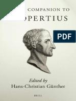 [Hans-Christian Gunther] Brill's Companion to Propertius