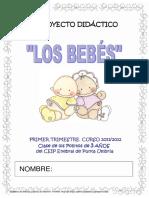 Proyecto Educación Infantil Los Bebés