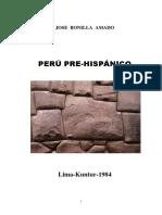 BONILLA José Perú Pre-hispánico
