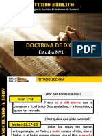 Discipulado Nº 1 Conocer a Dios