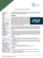 Diplomado en Salud y Humanizacion