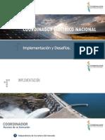 Presentación Coordinador Eléctrico Nacional
