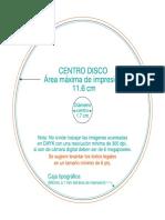Plantilla Centro Disco