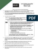 Havard Referencing Format