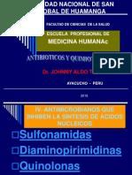 ANTIBIOTICOS SULFAS - QUIMIOTERAPICOS
