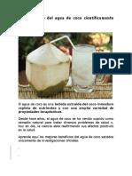 10 Beneficios Del Agua de Coco
