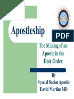 Apostleship Presentation