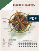 Forgotten Realms D&D 5E - O Calendário de Harptos - Biblioteca Élfica
