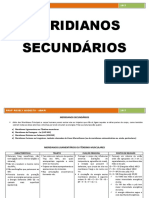 MERIDIANOS SECUNDÁRIOS