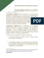 METODO DE INVESTIGACION EN LA IAP PROYECTO IV.doc