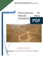 Planeamiento de Minado Mina PROMESA