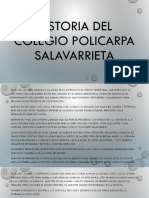 Historia Del Colegio Policarpa Salavarrieta