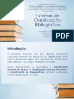 Material Auxiliar Biblioteca 5 Sistemasdeclassificaobibliogrfica