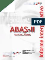Ejemplo Informe ABAS-II