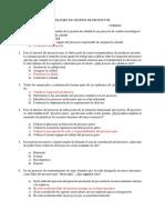 Examen de Gestión de Proyectos resuelto