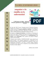 Campaña del Enfermo 2018. Orientaciones y liturgia..doc