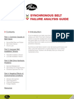 Gates Corporation Synchronous Belt Failure Analysis Guide