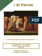 Sete di Parola - II settimana di Natale -B.doc