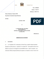 180111-Operation- Cour Federale- Requete en Radiation- Ordonnance Et Motifs 9 Janvier 2018