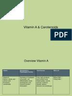 vitamin a ppt
