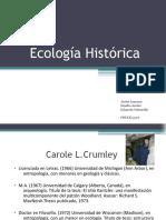 ECOLOGIA HISTORICA
