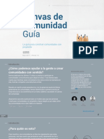 Spanish Translation - Community Canvas Guidebook
