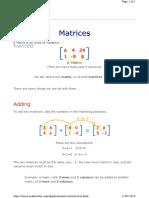 Matrix Introduction