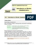 ADM 01 - Introdução Ao Direito Administrativo