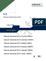 Essay Guide (Generic)210909