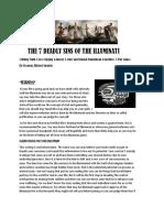 The 7 Deadly Sins of the Illuminati