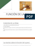 FUNCION DE LA PENA.pptx