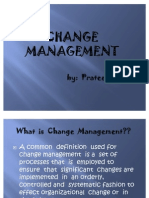 Change Management by Prateek