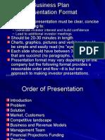 Business Plan Presentation Format (1)