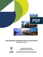 Plan Indicativo Gas Natural 2015