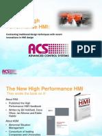 High Performance HMI