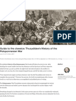 Guide to the Classics Thucydides Histor
