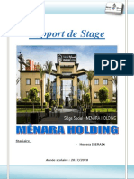 Rapport Stage Menara Holding