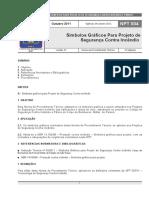 NPT00411 Símbolos Gráficos Para Projetos de Segurança Contra Incêndio e Pânico