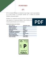 Fosforo y Arsenico Final