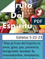 El Fruto de Espiritu Santo