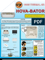 Thermal Hova-Bator Instructions