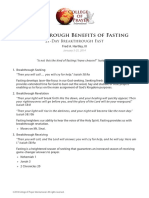 5 Breakthrough Benefits of Fasting