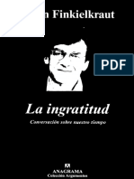 Finkielkraut Alain - La Ingratitud.pdf