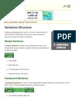 Sentence Structure Englishclub