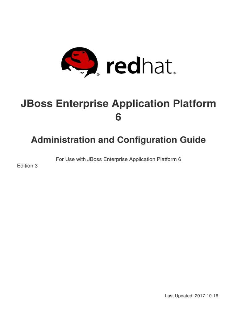 JBoss Enterprise Application Platform-6-Administration and