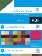 Catalogo Telas