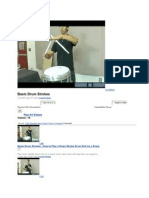 Basic Drum Strokes