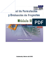 Manual de Formulación y Evaluación de Proyectos 01-05-02
