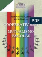 Documento de Apoyo Para Docentes - Cooperativismo y Mutualismo Escolar