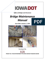 BRIDGE - IowaDOT BridgeMaintenanceManual 01JAN2014 FINAL